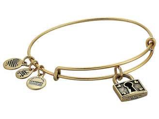 Alex and Ani Unbreakable Love Bangle Bracelet