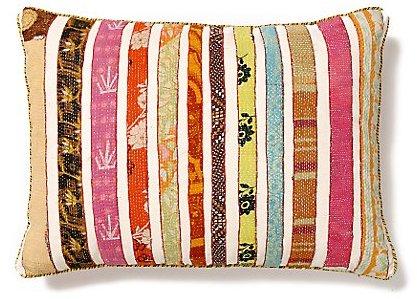 Orimono Pillow, Stripe