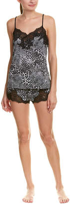 Natori Exotic Animal 2Pc Pajama Short Set