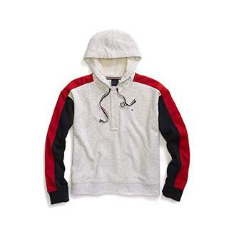 Tommy Hilfiger Adaptive Women's Hoodie Sweatshirt with Magnetic Buttons
