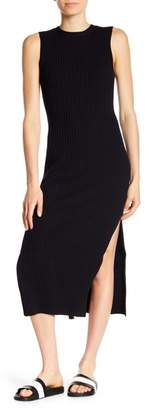 Frame Sleeveless Rib Knit Dress