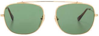 RetroSuperFuture Super Primo Gold Metal Sunglasses