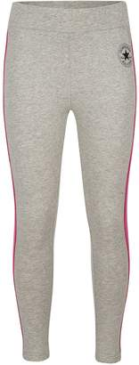 Converse Girl's Side Stripe Leggings