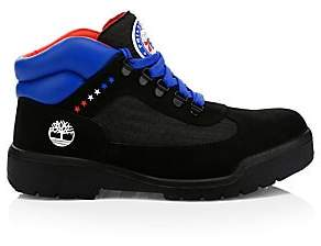 ecde686ccd4 Timberland Men s NBA Collection Philadelphia 76ers Lace-Up Leather Boots