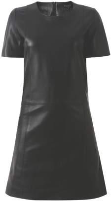 ELLESD - Black Classic Leather Dress