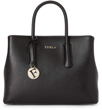 Furla Black Tessa Satchel
