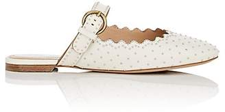Chloé Women's Studded Leather Buckle-Strap Mules