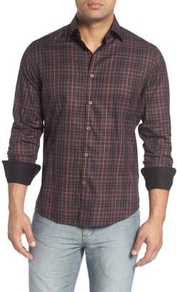 Men's Stone Rose Plaid Sport Shirt $145 thestylecure.com