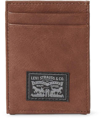 Levi's Colt ID Flap Credit Card Holder