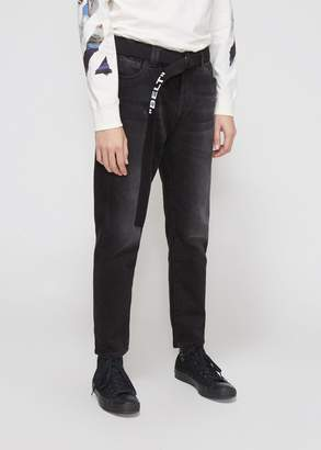 Off-White Slim Low Crotch Jean