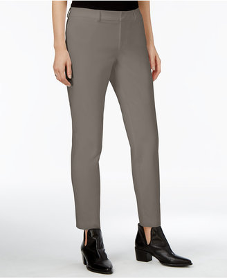 Maison Jules Straight-Leg Ankle Pants, Created for Macy's $49.50 thestylecure.com