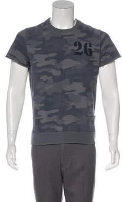 Dolce & Gabbana Camouflage Cut-Off Sweatshirt