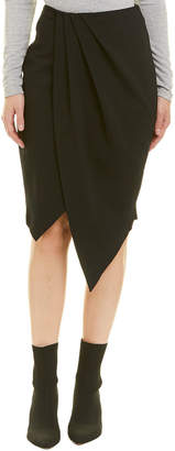 Finders Keepers Finders Pleated Wrap Skirt