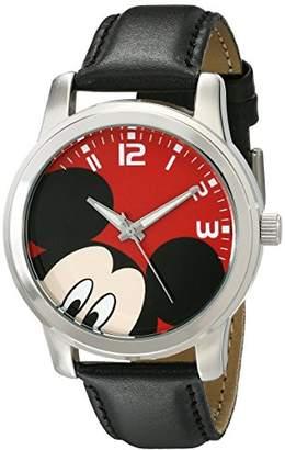 Disney Unisex W001842 Mickey Mouse Analog Display Analog Quartz Watch