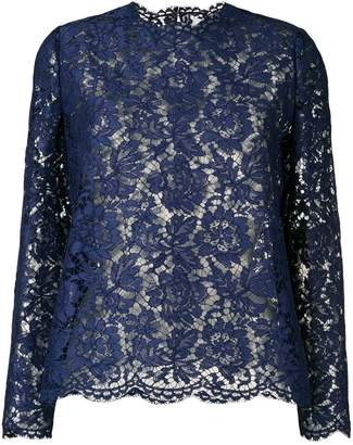 Valentino lace blouse