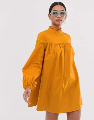 Fashion Union high neck long sleeved shift dress