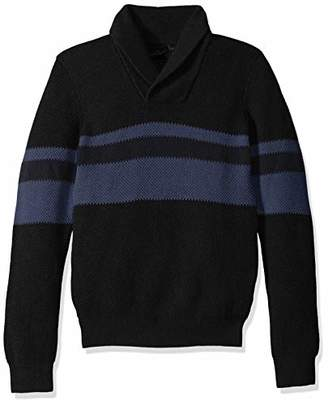 Armani Exchange A|X Men's Pullover Fantasy Stitch Stripe Sweater