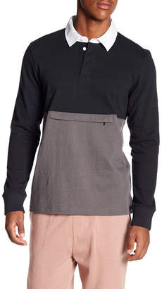 Tavik Oliver Colorblock Long Sleeve Polo