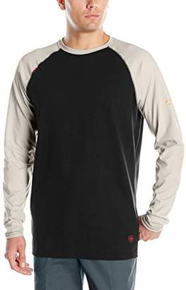 Ariat Men's Flame Resistant Long Sleeve Baseball Tee