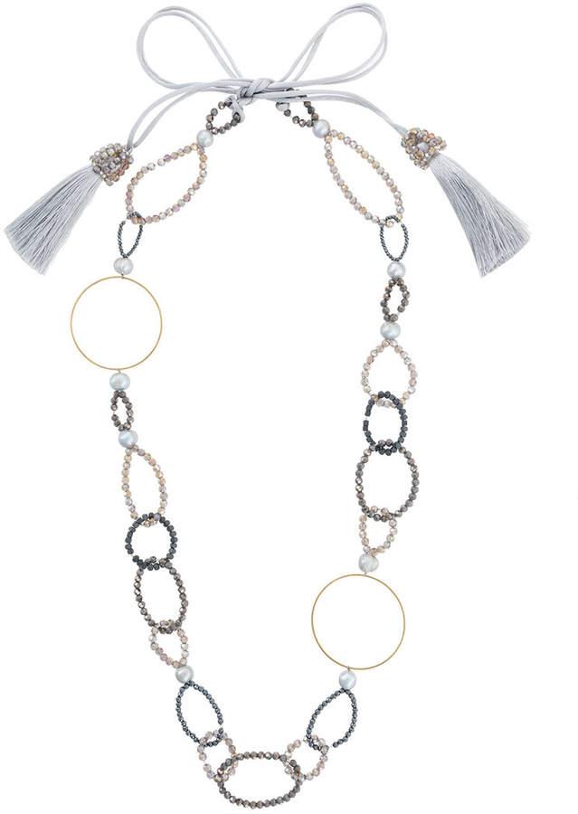 Night Market Halskette mit goldfarbenem Ring
