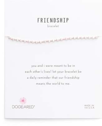 Dogeared (ドギャード) - Dogeared Flat Bead Pin Friendship Bracelet