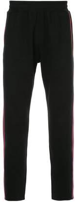 GUILD PRIME side stripe jogging pants