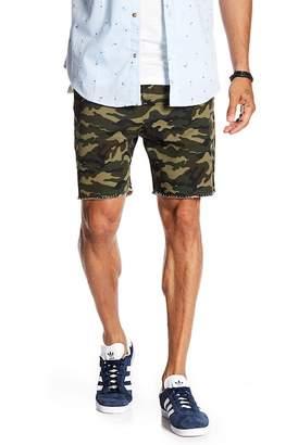 Sovereign Code Bass Frayed Hem Shorts