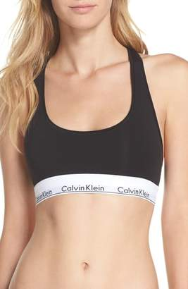 Calvin Klein Modern Cotton Collection Cotton Blend Racerback Bralette