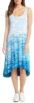 Karen Kane Tie Dye High/Low Tank Dress