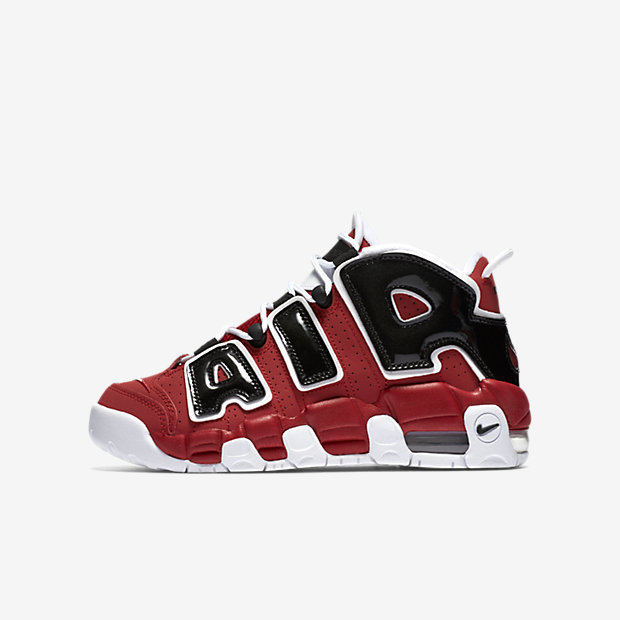 Nike Air More Uptempo Little/Big Kids' Shoe 5
