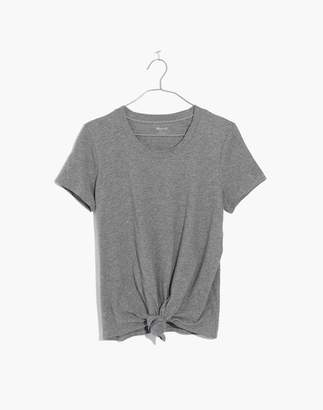 Madewell Knot-Front Tee