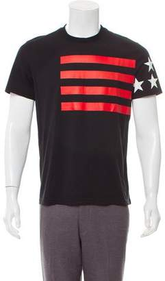 Givenchy Stars & Stripes Graphic T-Shirt