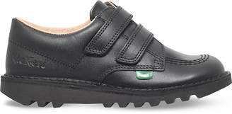 Kickers Kick lo leather shoes 6-9 years
