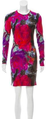 Christopher Kane Printed Mini Dress