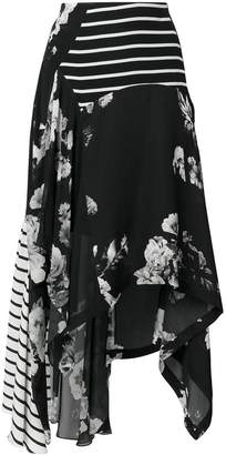 Preen by Thornton Bregazzi contrast panel skirt