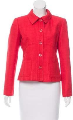 Valentino Silk Woven Jacket