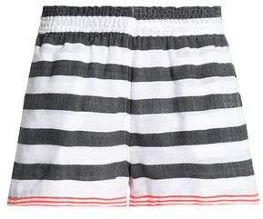 Lemlem Striped Cotton-Blend Shorts