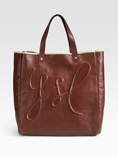 Yves Saint Laurent Medium Shopping Leather Tote