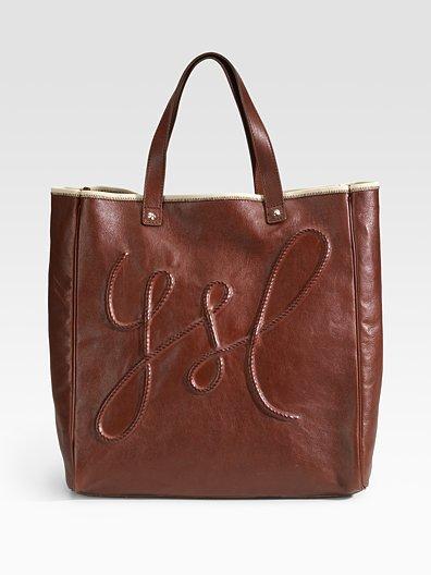 Yves Saint Laurent Medium Shopping Leather Tote