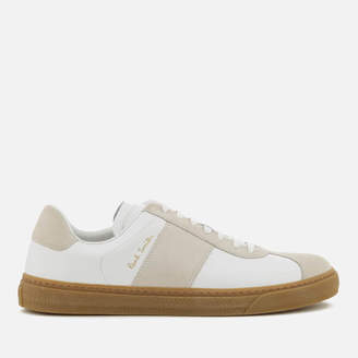 ee853957fc8 Paul Smith Men s Levon Leather Cupsole Trainers - White