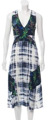 Marissa Webb Floral Midi Dress