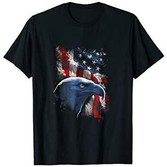American Eagle American Flag Eagle Tshirt USA Eagle T-Shirt