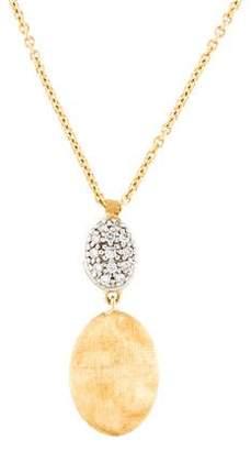 Marco Bicego 18K Diamond Pendant Necklace