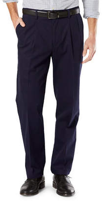 Dockers Classic-Fit Signature Stretch Pleated D3 Pants