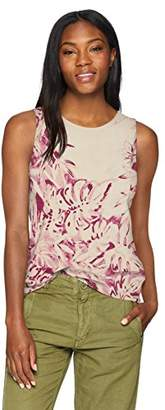 Lucky Brand Women's Printed Floral Tank TOP