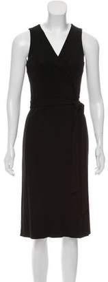 Diane von Furstenberg Surplice Wrap Dress