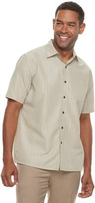 Croft & Barrow Men's Classic-Fit Textured Microfiber Button-Down Shirt