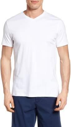Robert Barakett Georgia Regular Fit V-Neck T-Shirt