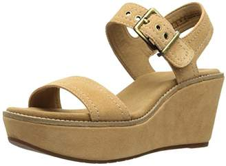 Clarks Women's Aisley Orchid Wedge Sandal