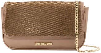 Love Moschino metallic crossbody bag